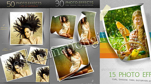 GraphicRiver 95 Photo Effects - Actions for Photoshop